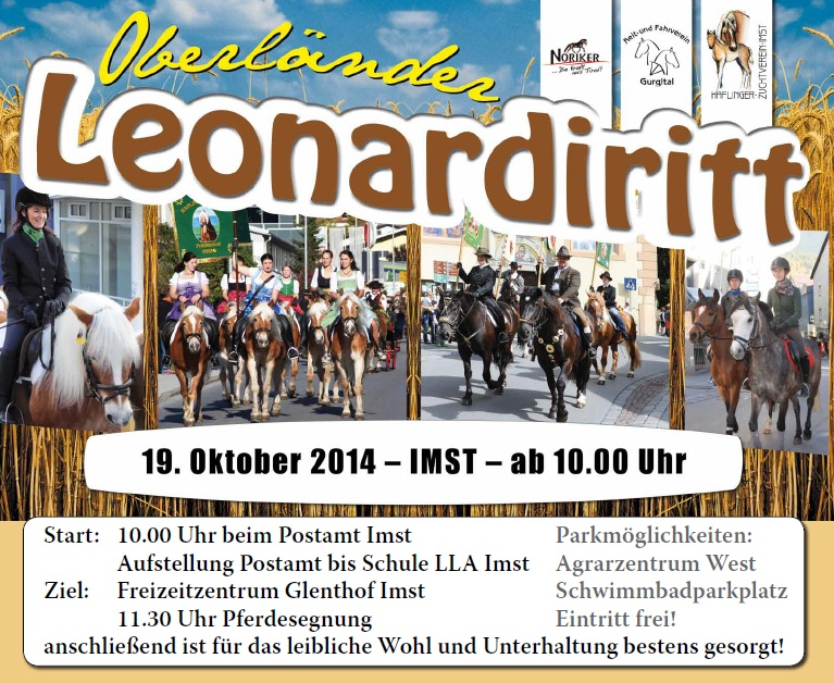 Leonhardiritt 2014